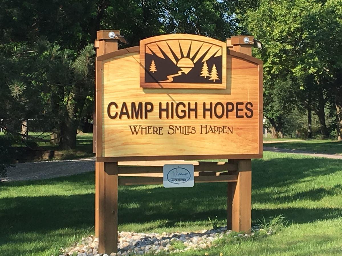 Camp High Hopes sign