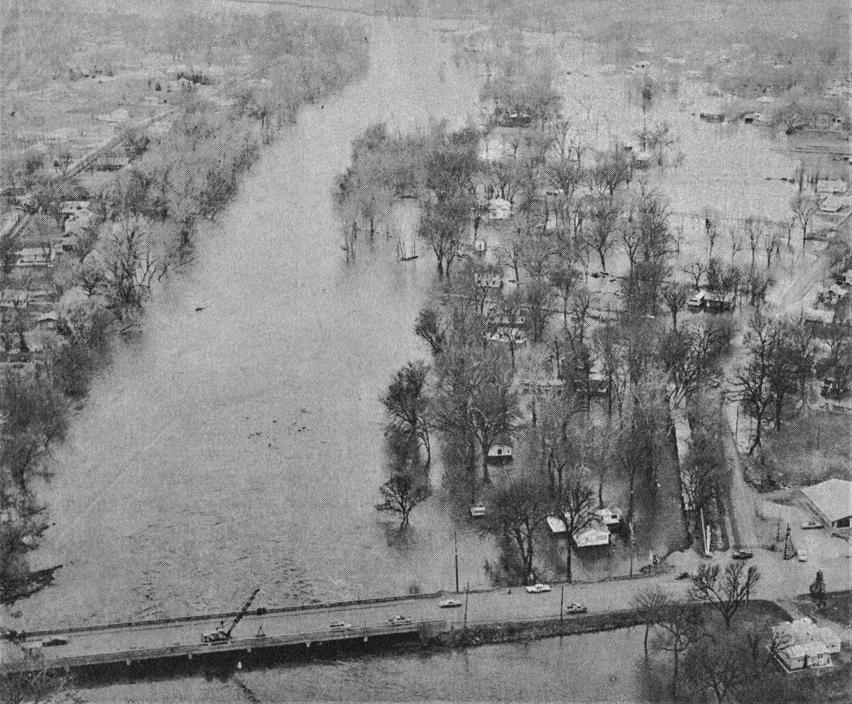 North Sioux City flooding, 1969