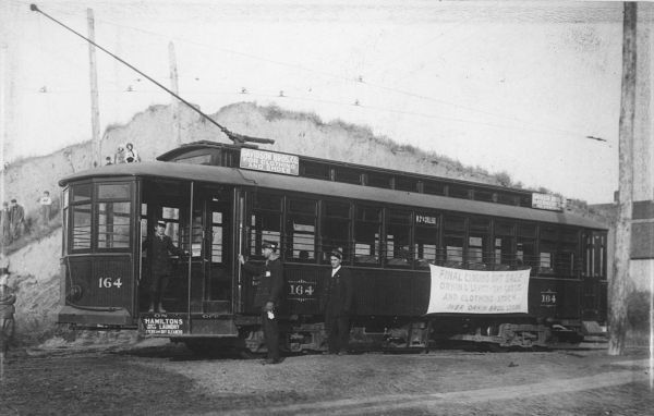 Electric cars were seen throughout Sioux City in 1912