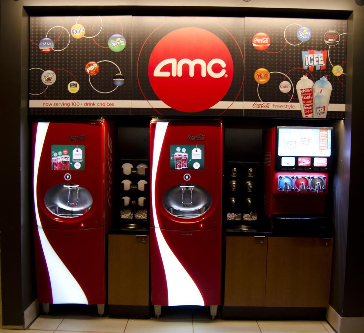 AMC Coke and ICEE machines