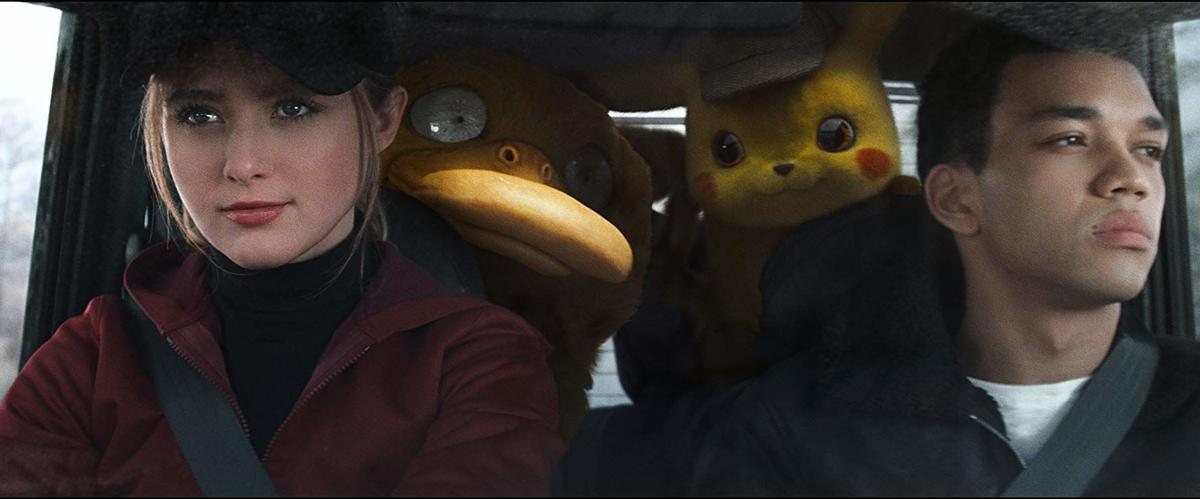 Pokémon Detective Pikachu scene