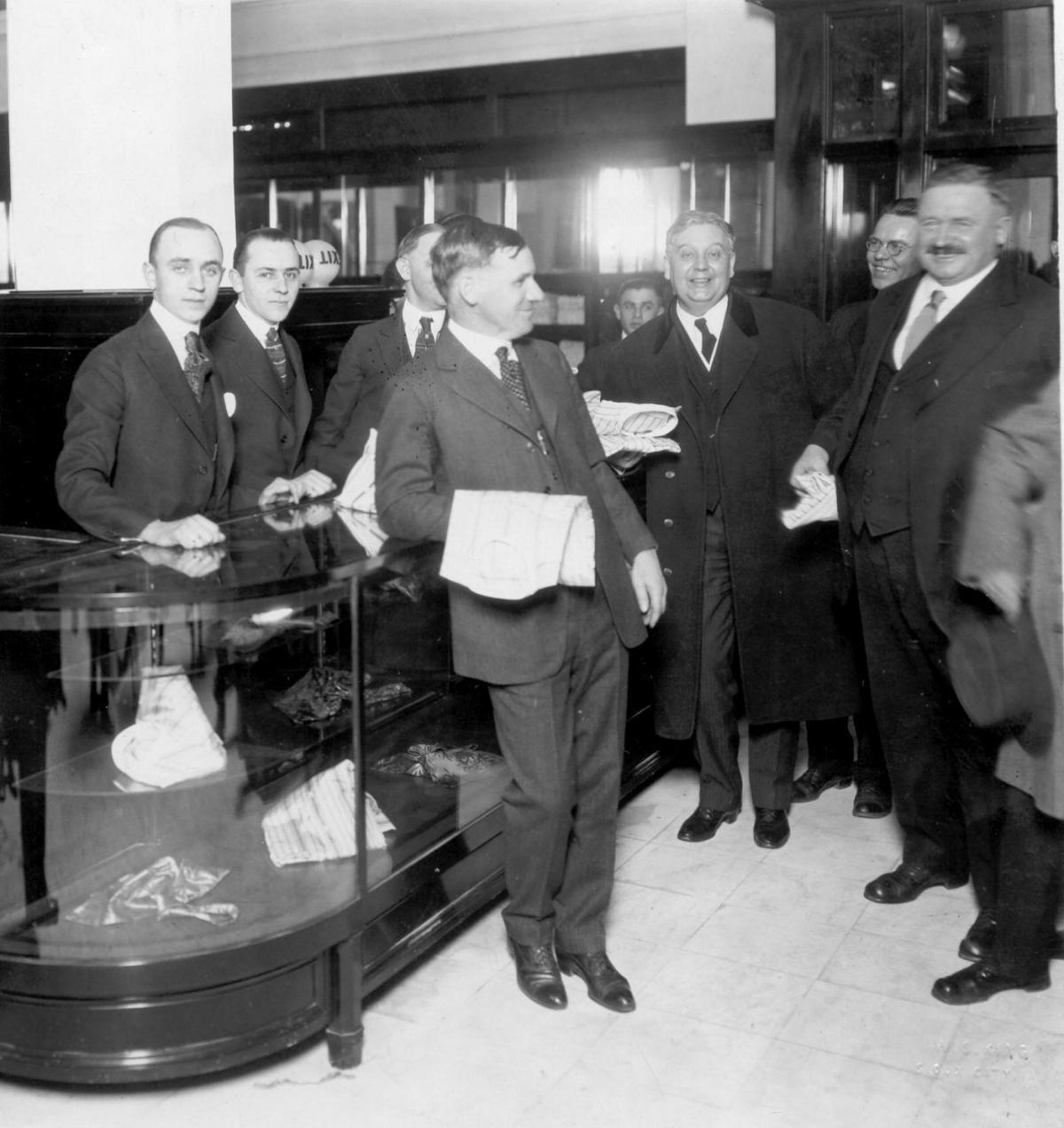 T.S. Martin store opening, 1919