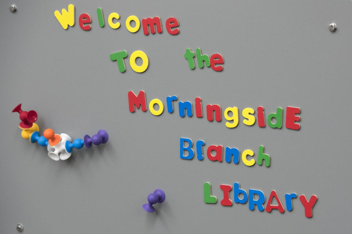 Newly renovated Morningside Library to reopen Monday after