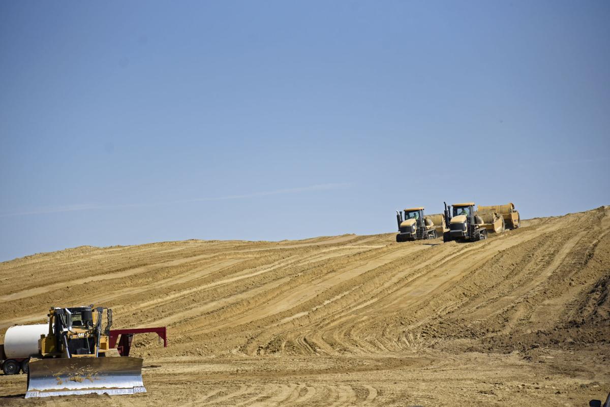 LEC dirt work