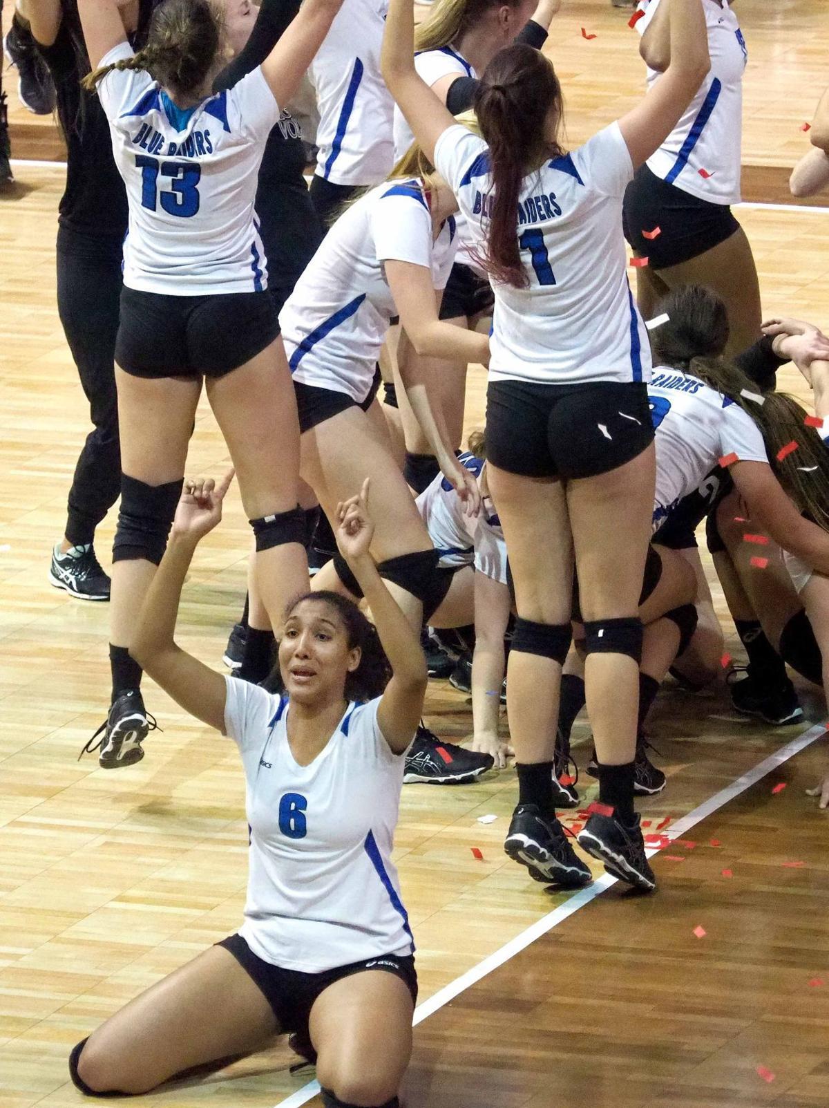 Dordt vs  Lindsey Wilson NAIA Volleyball Championship