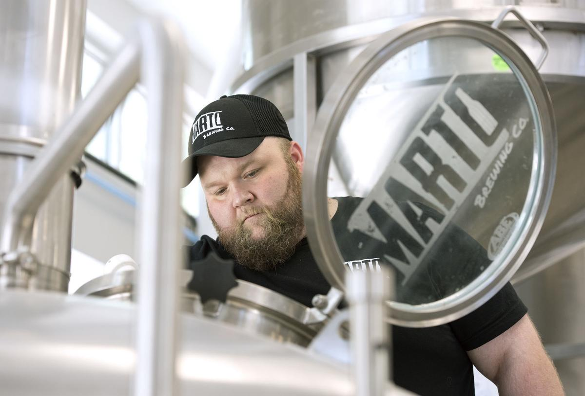 Marto Brewing Company's first beers