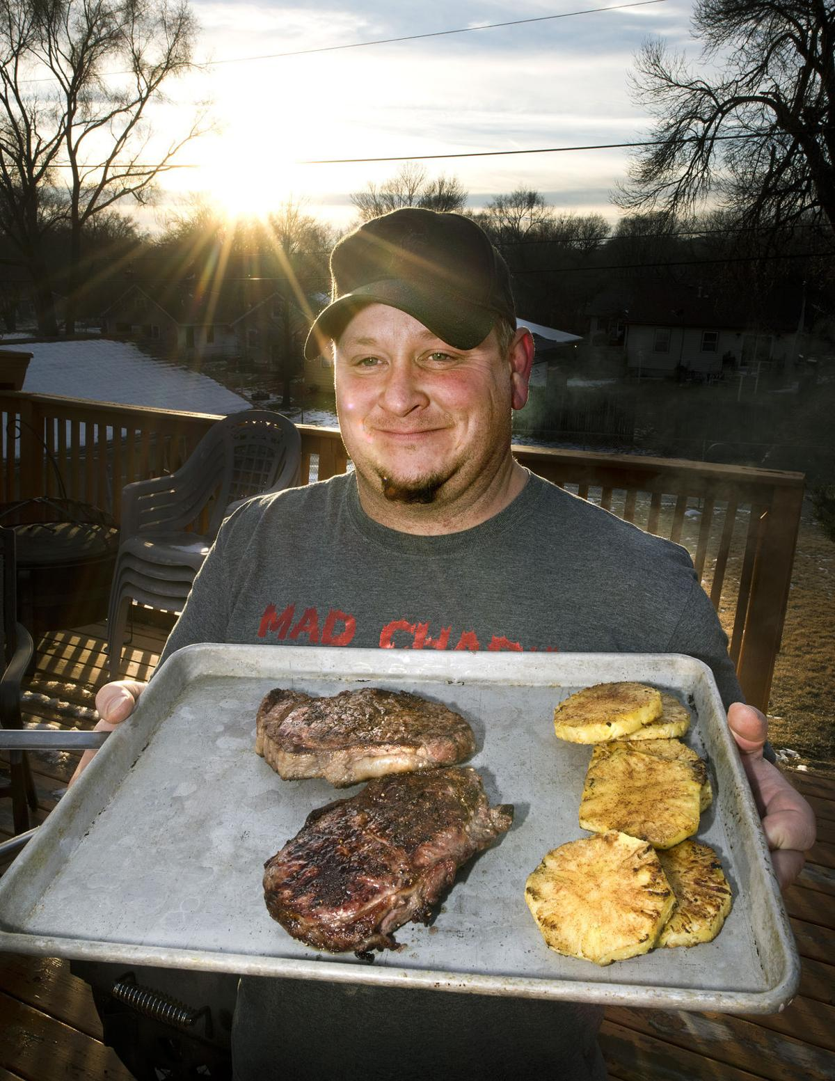 Food grilling Chad Peterson