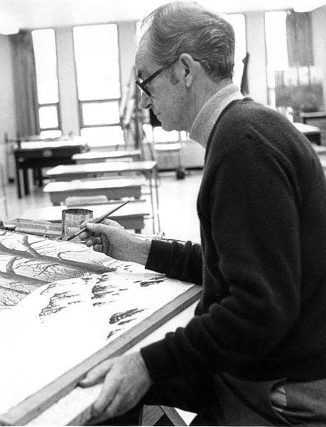 Painter J.F. Goff