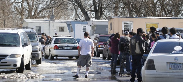 Photos Police Stand Off Regency Mobile Home Park