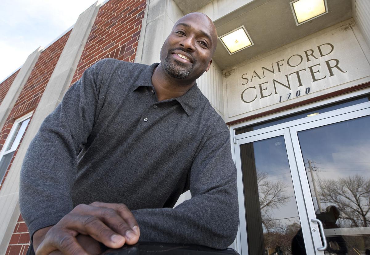 Sanford Community Center director Fitz Grant