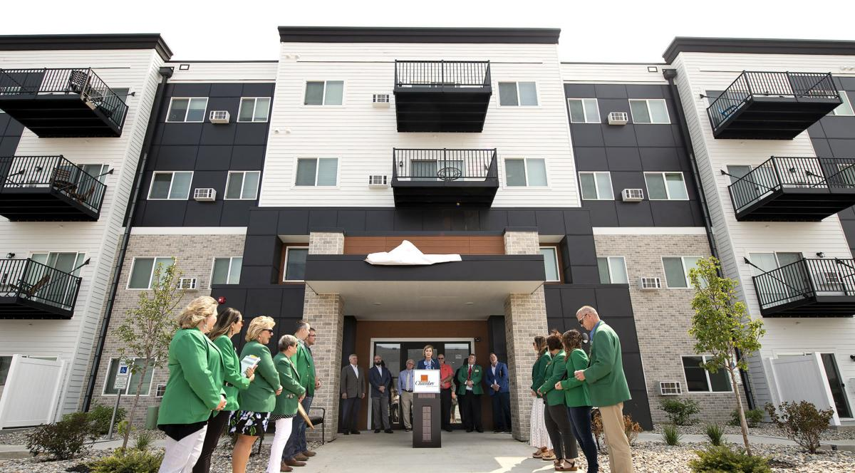 District 42 Apartments and Townhomes  ribbon cutting