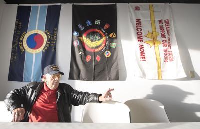 Korean War veteran Floyd Leaver