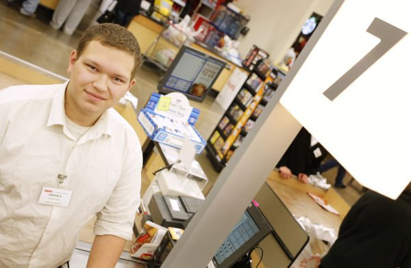 Courtesy Clerk Adorable New Hyvee Courtesy Clerk Has Eyes Set On Stardom  Siouxland Life .