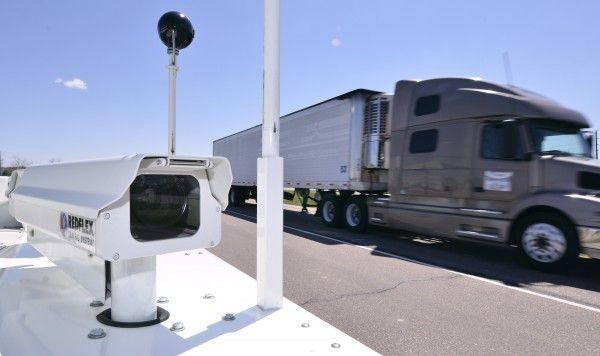 I-29 speed camera demonstration 2011