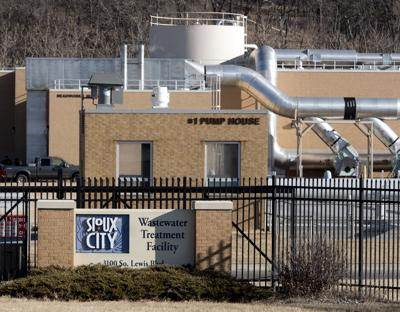 Sioux City wastewater treatment plant