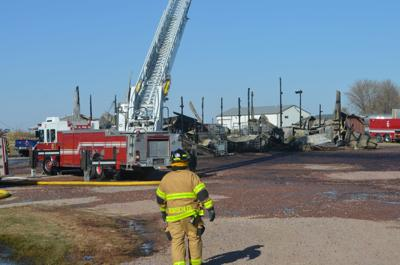 Flatbed Services fire