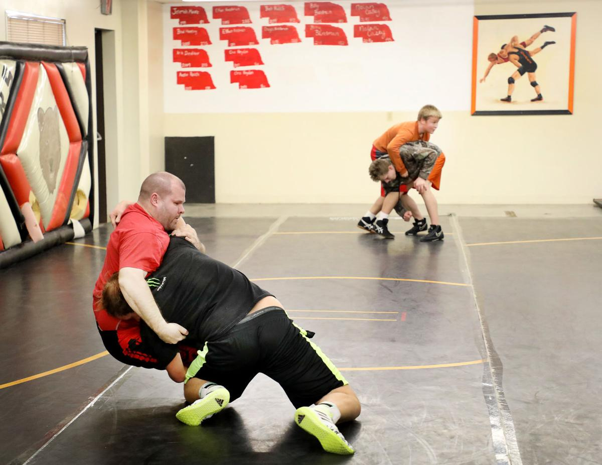 Art instructor and wrestling coach Joe Frost
