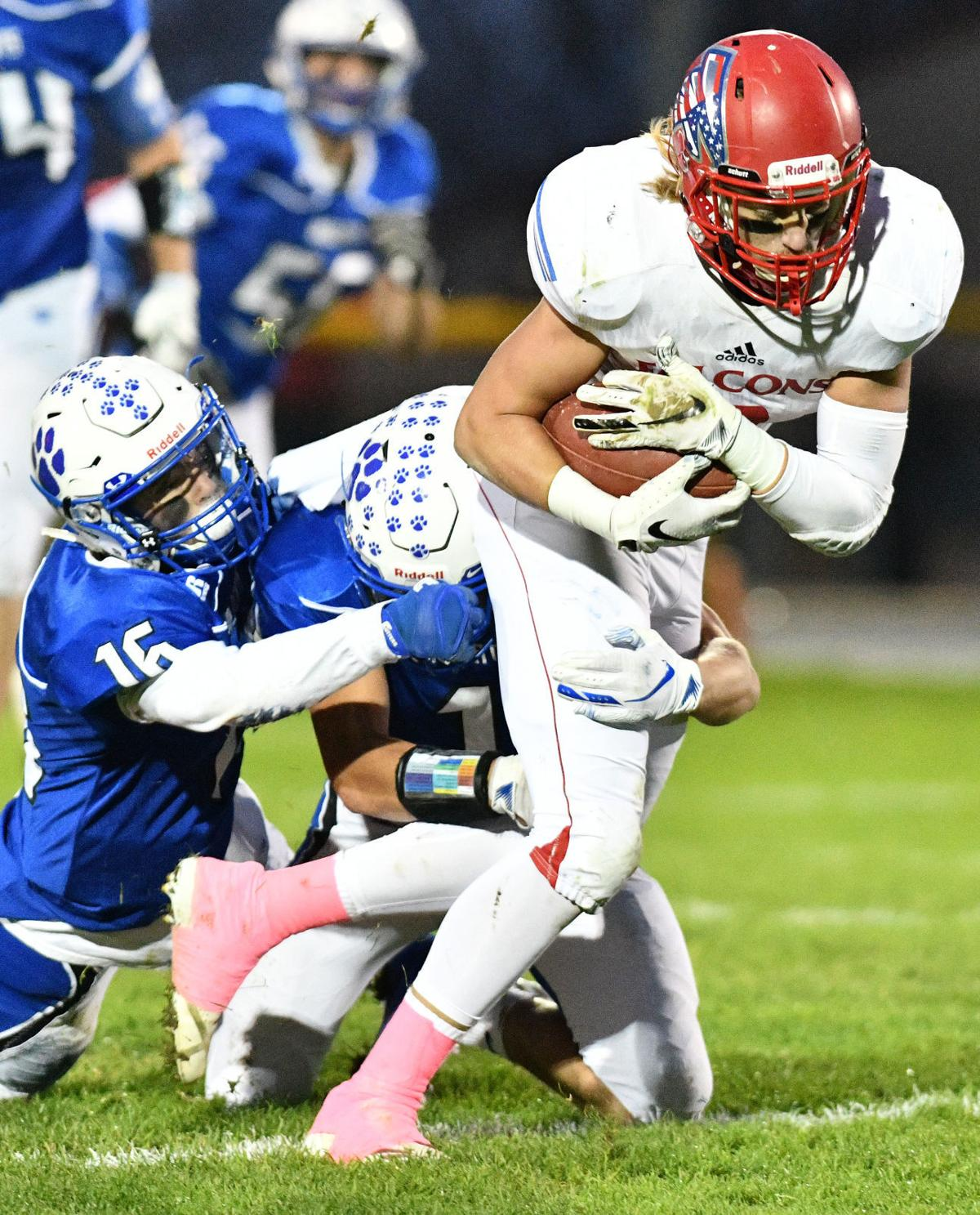 West Lyon vs West Sioux football