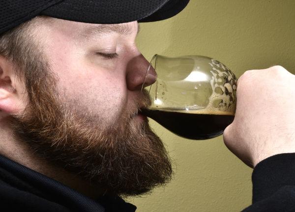 Onawa home brewer Erik Martin