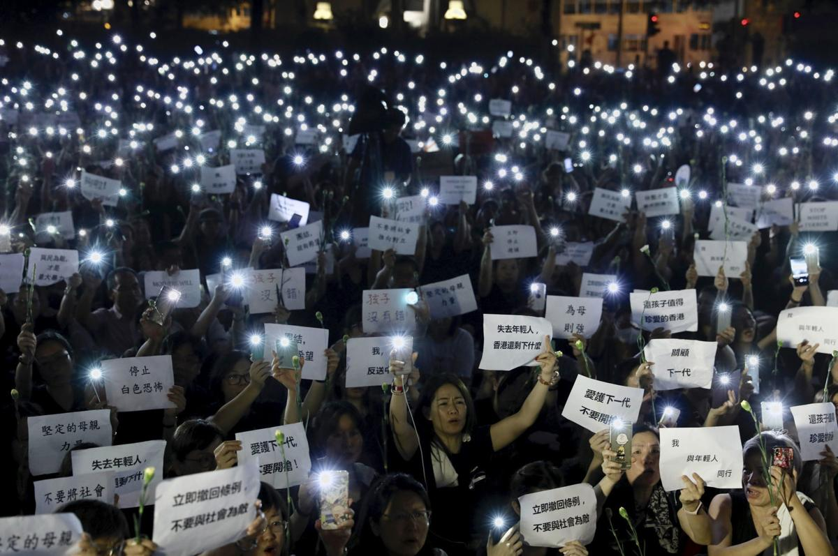 APTOPIX Hong Kong Extradition Law