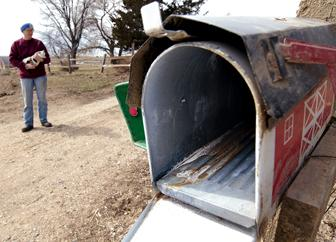 Damaging mailboxes can have serious consequences