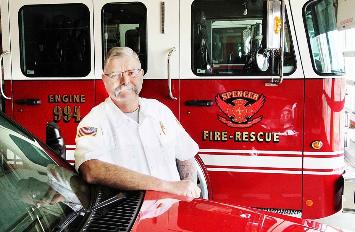 Spencer Fire Chief John Conyn