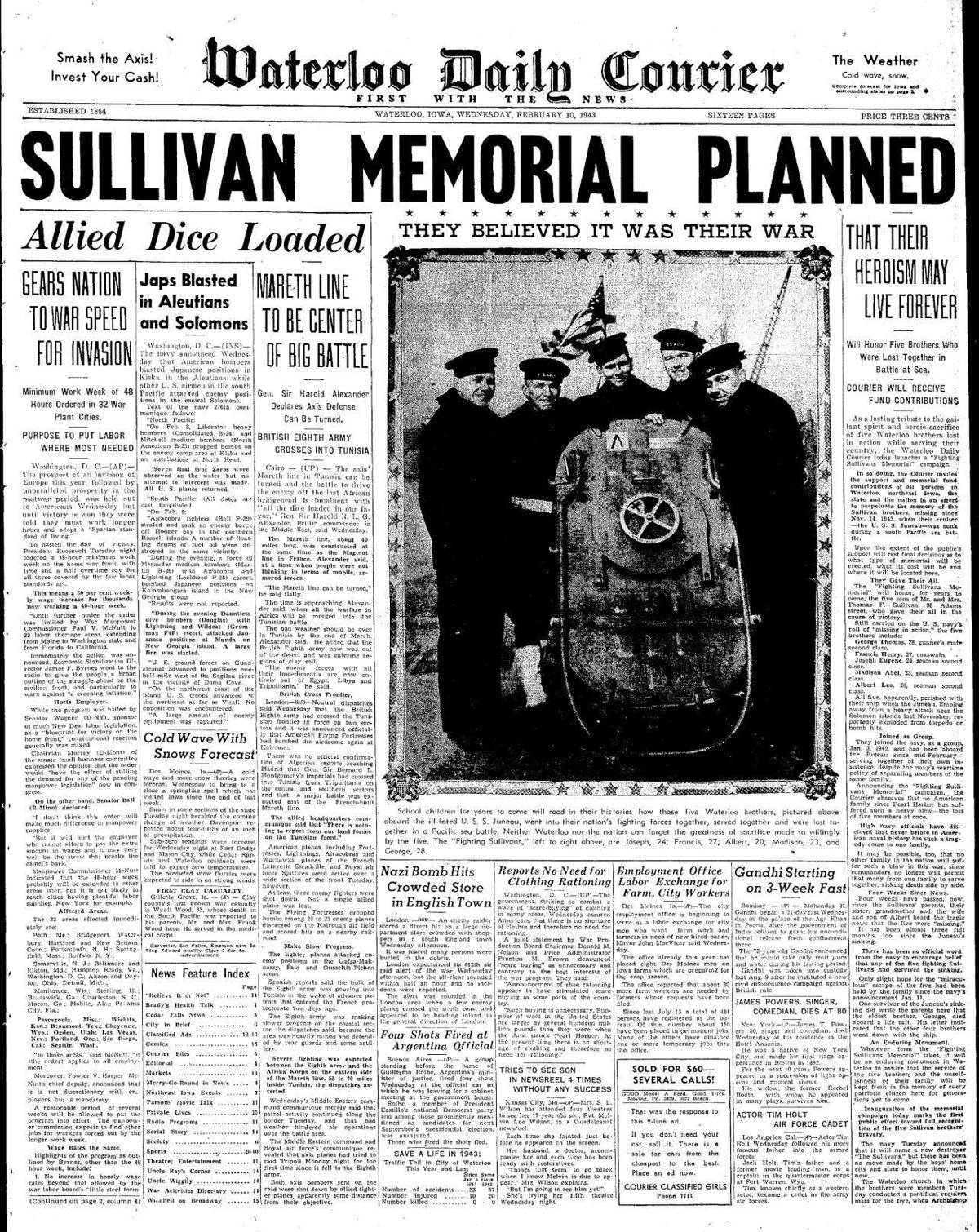 Courier Feb. 10, 1943