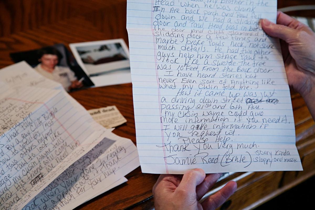 Jody Ewing letter