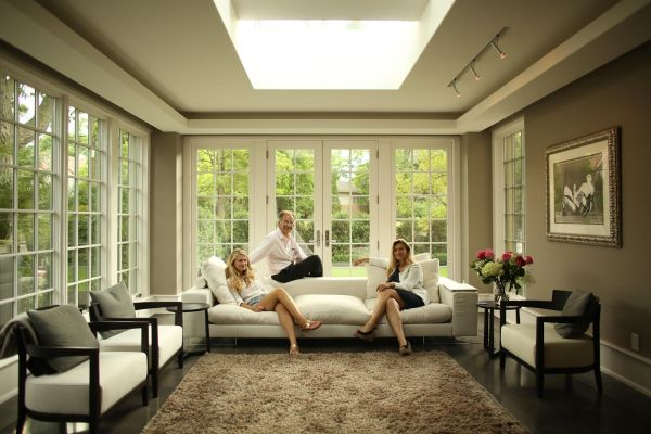 Sunroom Skylight Add Natural Light To Remodeled Home