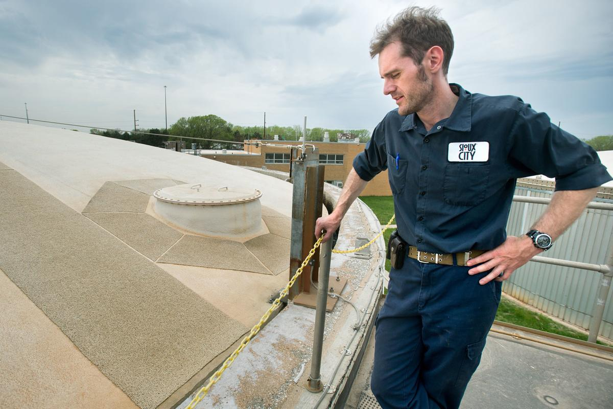 Wastewater Treatment Plant Gas
