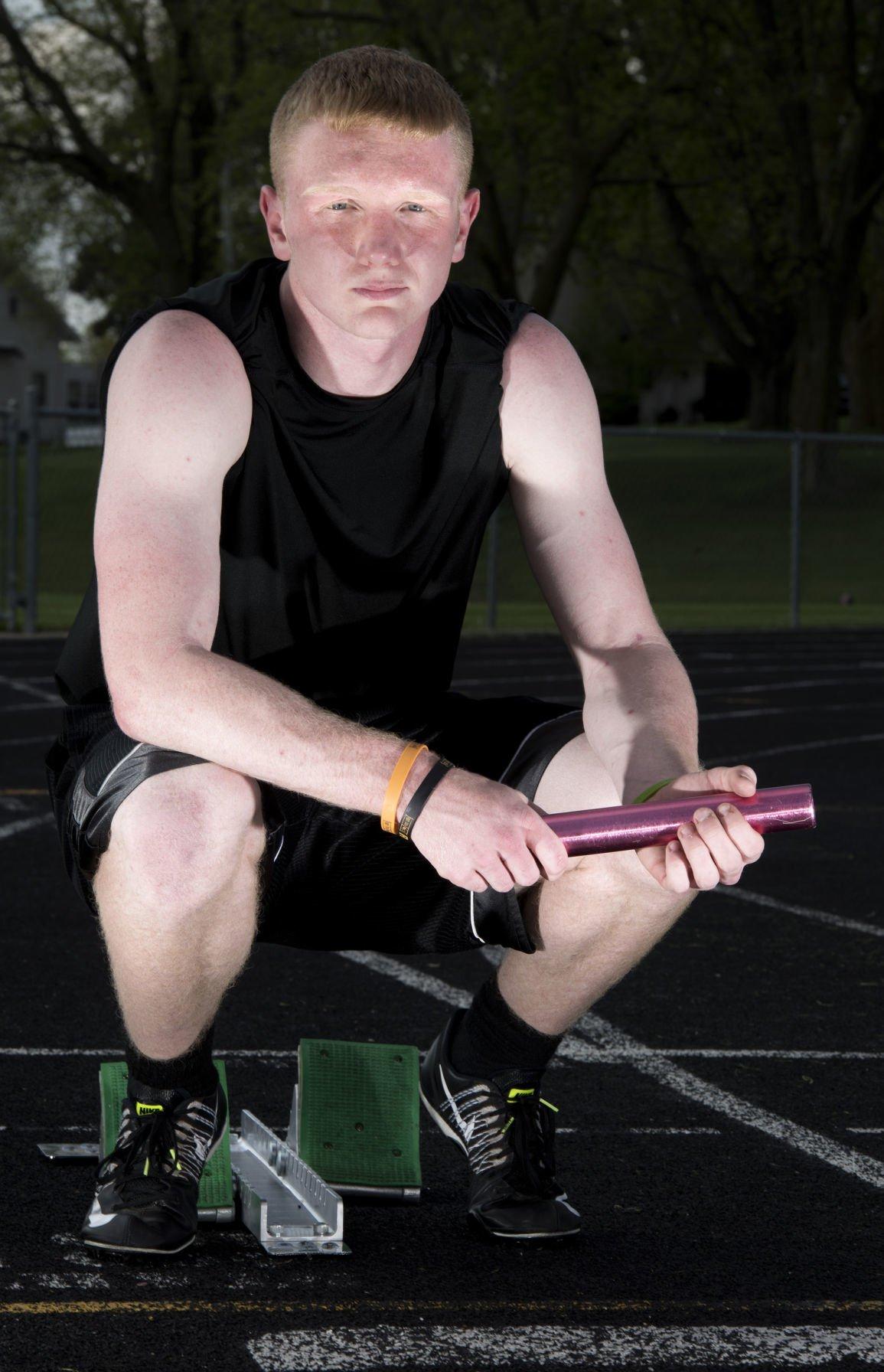 Lawton-Bronson sprinter Garrett Dekker