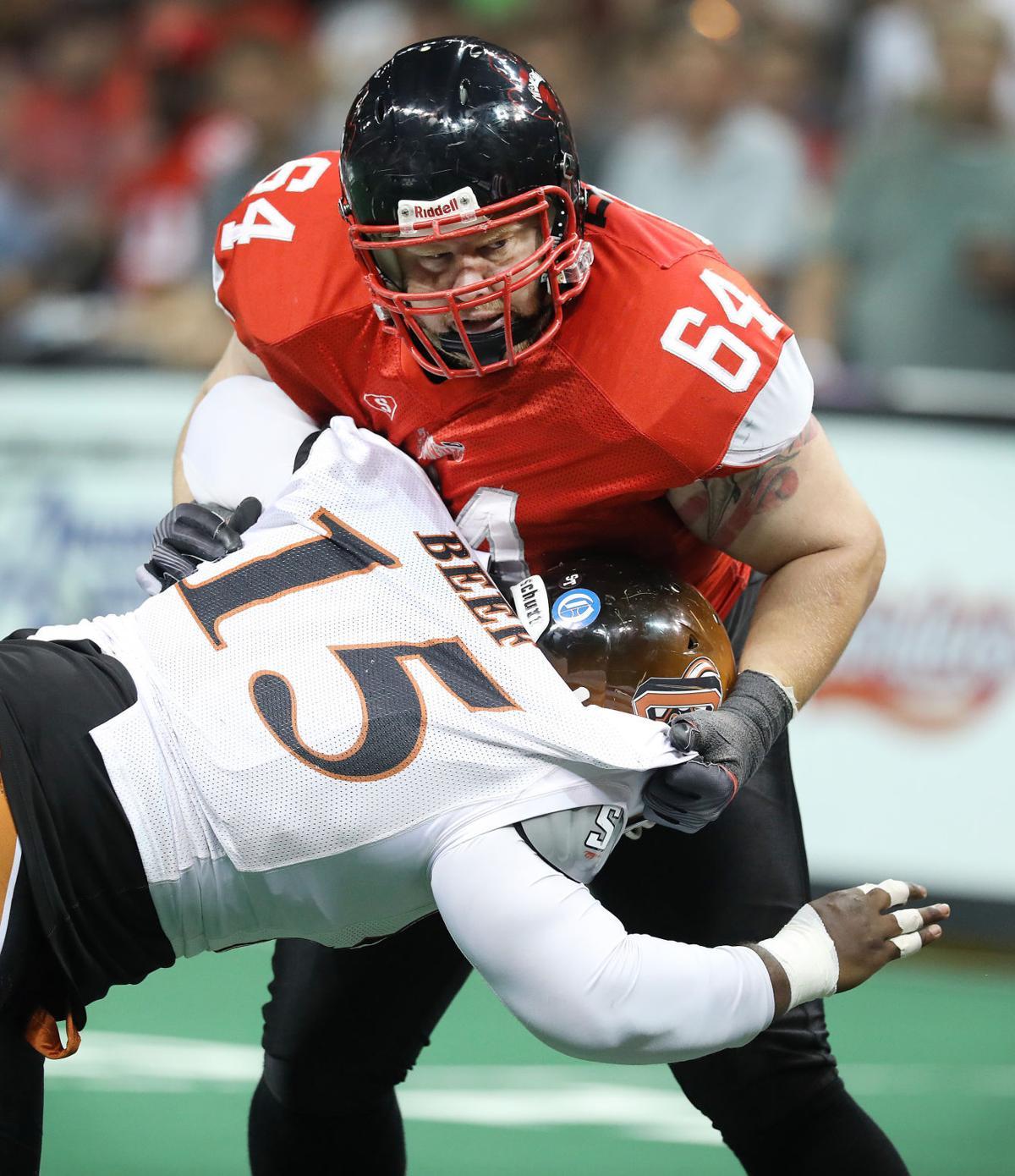 Omaha Beef at Sioux City Bandits playoff football