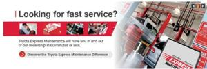 Looking for fast service?