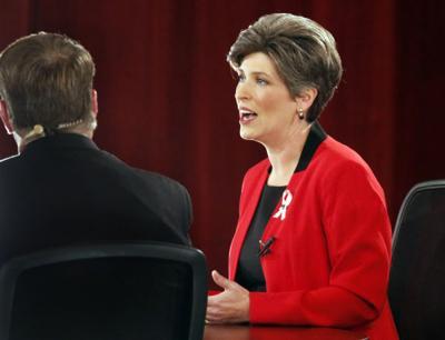 Bruce Braley and Joni Ernst debate