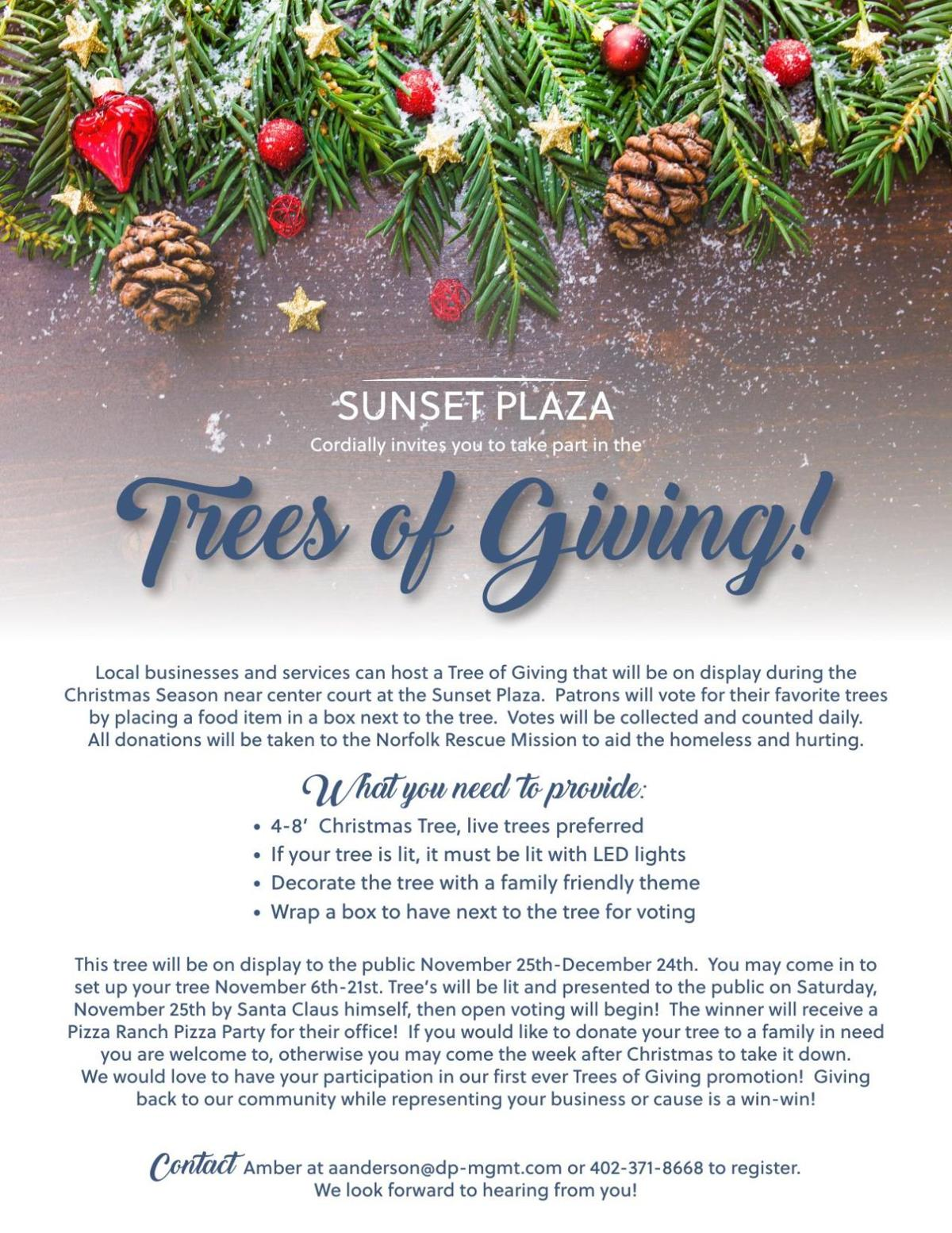 Trees of Giving!