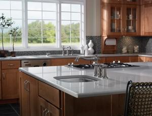 Call us to install a new Delta faucet in your kitchen!