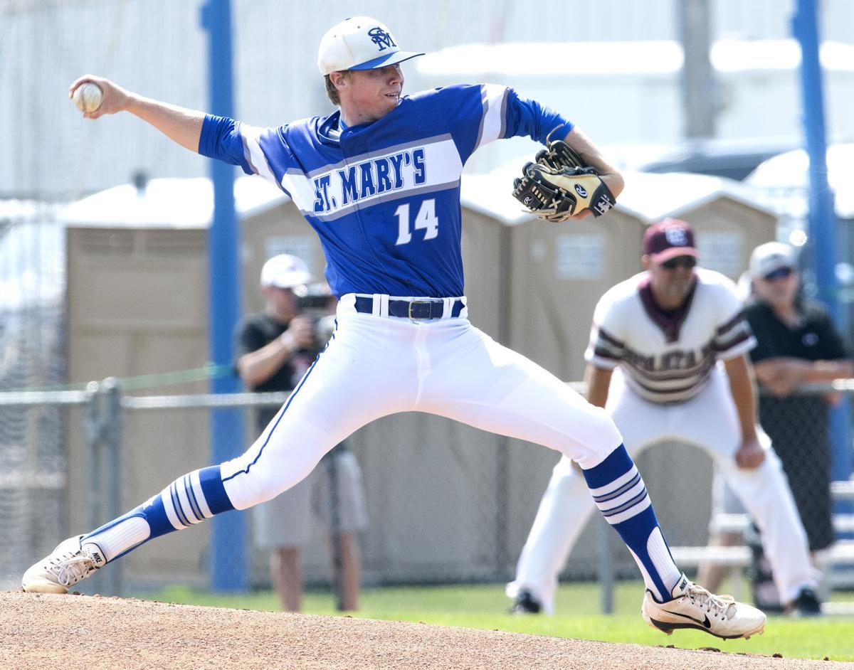 Remsen St Mary's vs Grundy Center state baseball