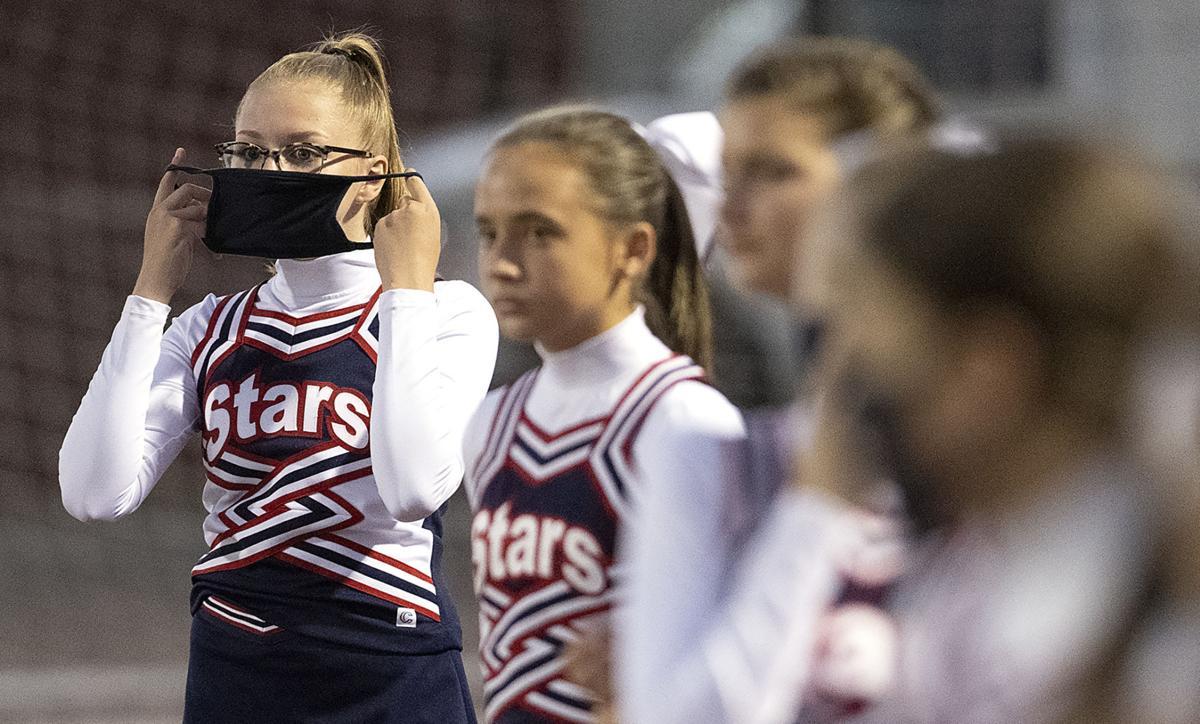 Cheerleading #2 North vs Heelan football