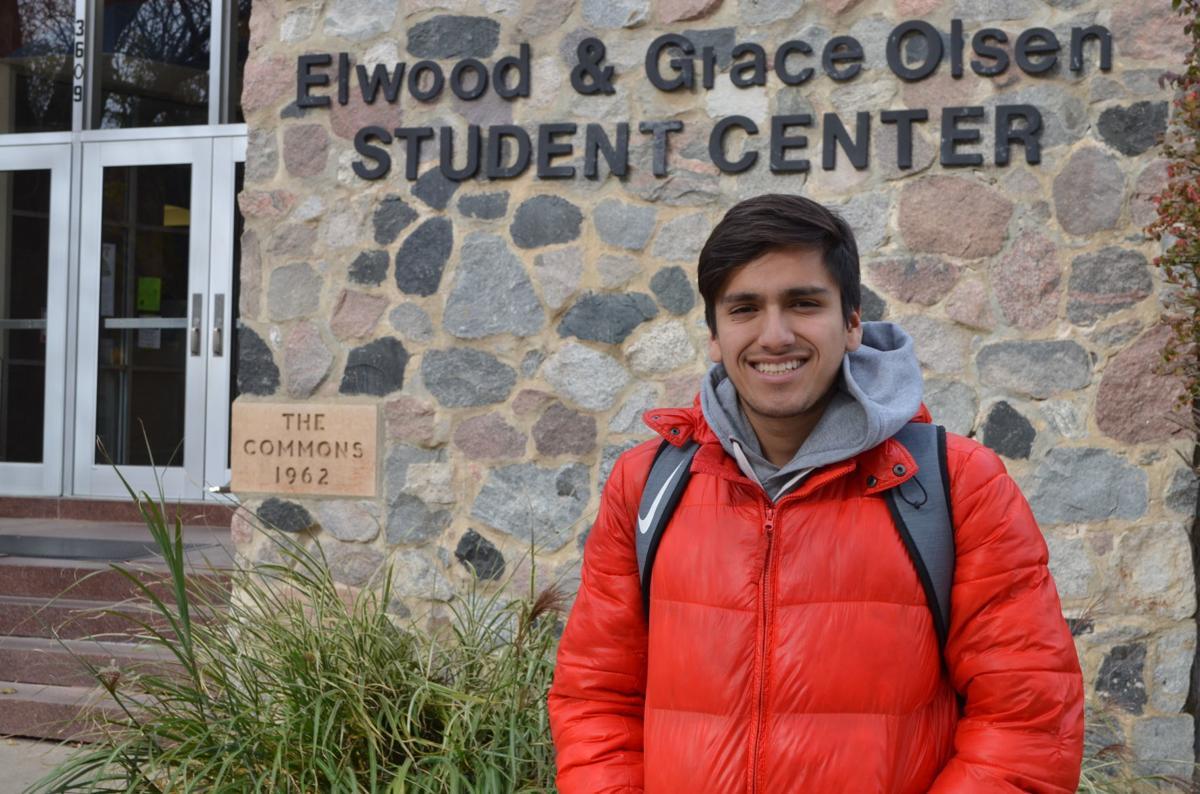 samuel padilla at olsen student center
