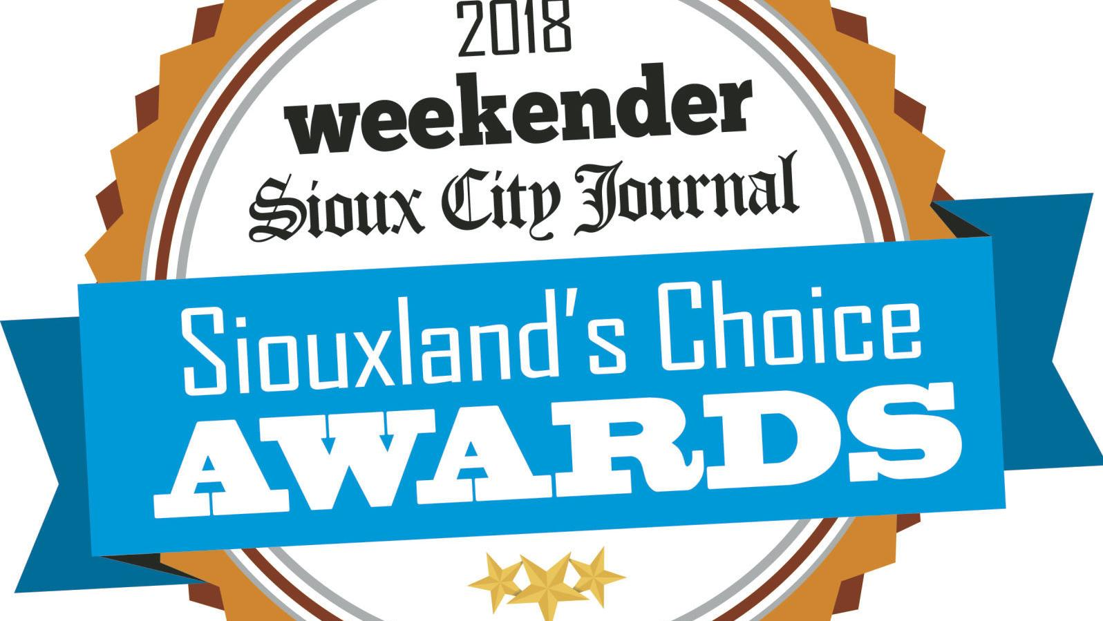 Siouxland's Choice Awards voting begins Monday
