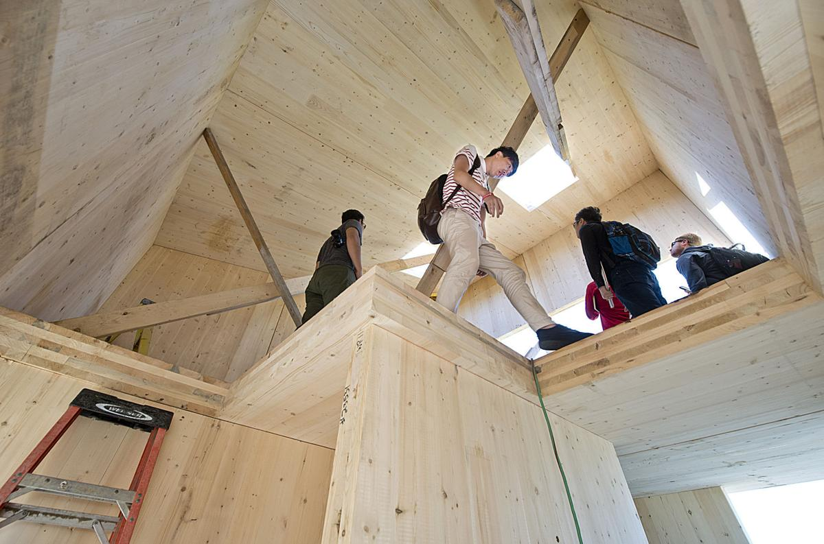 South Sioux City cross-laminated timber building