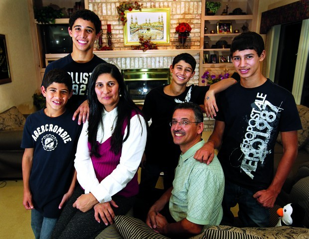 The Najdawi family does not celebrate Christmas