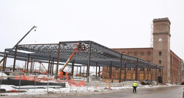 Hard Rock Hotel and Casino construction