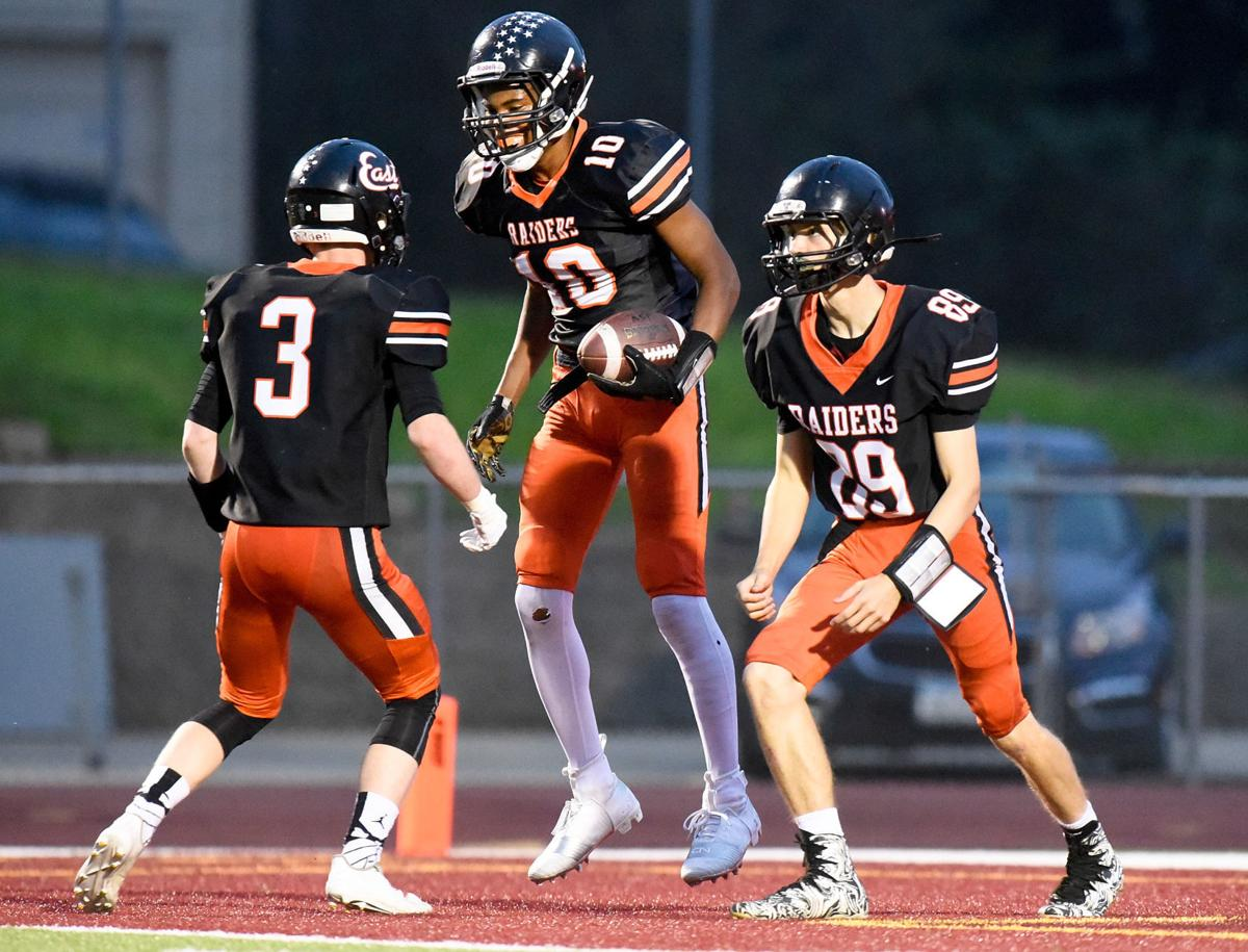 Football Des Moines Hoover at Sioux City East