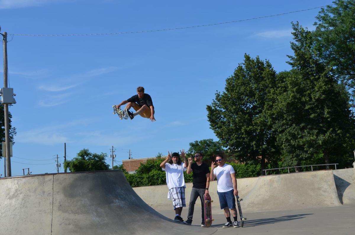 skateboarder, long shot #2
