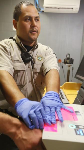 Woodbury County Jail Booking Desk