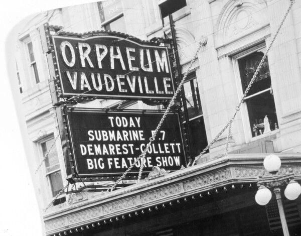 Orpheum Vaudeville