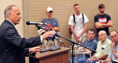 Steve King limits town hall meetings in current political climate