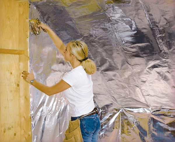 Use Foil Ventilation To Lower Electric Bills Home And