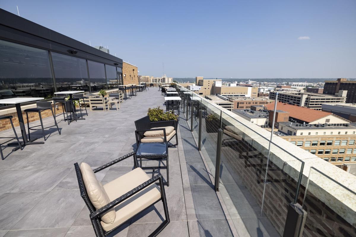 Warrior Hotel's rooftop bar